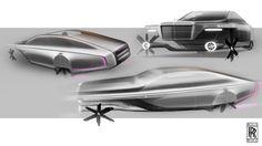 Rolls Royce, Sketches by Julien FESQUET / ISD