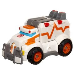 Amazon.com: Transformers Rescue Bots Playskool Heroes Medix The Doc-Bot Figure: Toys & Games - *from Aunt & Uncle