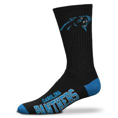Carolina Panthers socks