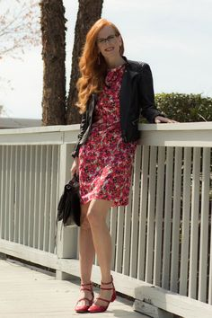 Turning Heads Linkup-Visiting DC -Floral Dress
