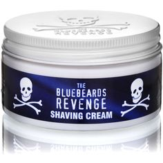 Crème de Rasage Bluebeards Revenge   Crème de Rasage de la célèbre marque anglaise The Bluebeards Revenge. Pot avec bouchon à vis de 100 ml Spéciale Barbes dures ou peaux sensibles Parfum boisé léger  Sans Paraben - Non testé sur les animaux