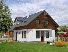 Проект дома Павлово - sg-t.ru Home Fashion, Wordpress, Shed, Outdoor Structures, Cabin, House Styles, Home Decor, Ceiling, Decoration Home