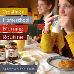 Create a morning homeschool routine that leads to more learning and less conflict!
