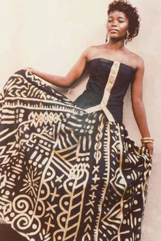 Arthur L. McGee was born in Detroit, Michigan in At the age of he ente. - Arthur L. McGee was born in Detroit, Michigan in At the age of he entered a contest to wi - African American Fashion, African Inspired Fashion, Black Fashion Designers, Ankara Designs, Fashion History, Detroit Michigan, Strapless Dress, Style Inspiration, Age