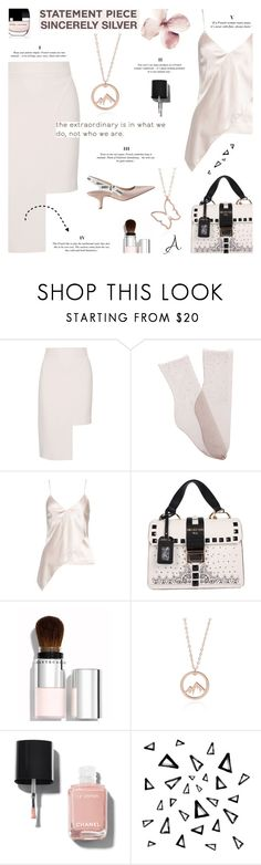 """""""Waiting for Spring - Sincerly Silver"""" by lacas ❤ liked on Polyvore featuring Cushnie Et Ochs, Brother Vellies, Marc Jacobs, Chantecaille, Christian Dior, Chanel, Nika, cushnieetochs and sincerellsilver"""
