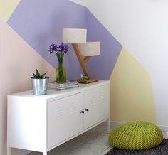 diy paredes geométricas5