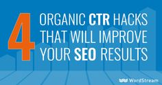 Why You Need to Raise Organic CTRs Search Engine Journal