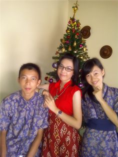 WITH MY BELOVED SISTER & BROTHER - CHRISTMAS