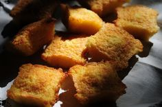 Bocaditos de naranja y jengibre