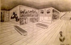 The 2-pt. perspective gallery (8th grade)