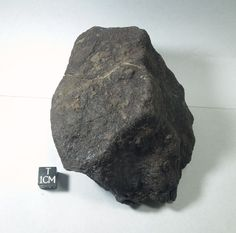 Big, uncut, stony meteorite recovered from the Saharan Desert in Morocco. Old collection from the early 1990's prior to the NWA gold rush. This specimen and many others at Galactic Stone and Ironworks. Ideal for space, asteroid, or astronomy education.