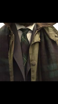 Burberry cachemere scarf, Barbour Gamefair jacket, blue Mabro coat, scottish tie. Barbour, Burberry, Tie, Photo And Video, Jacket, My Style, Coat, Videos, Instagram