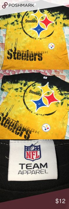 Pittsburgh Steelers NFL Football Tie Dyed Shirt Size XXL- Condition 9.5/10 NFL Team Apparel Shirts Tees - Short Sleeve