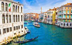 Venetian Lagoon along Adriatic Sea in northeast Italy