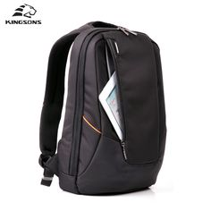 Kingsonsキャンディ黒ラップトップバックパック男デイリーリュックサック旅行バッグスクールバッグ15.6インチ女性bagpack mochila feminina