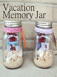 project 10 of 33 : vacation memory jar.