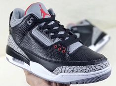 Air Jordan 3 Retro OG Black Cement Releasing Next Month