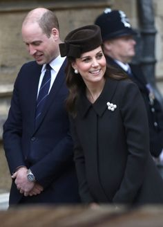 William and Kate Easter Service at St George's Chapel