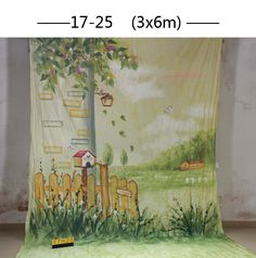 (102.60$)  Watch now - http://aius8.worlditems.win/all/product.php?id=32730997827 - 10x20ft Hand painted Studio Shooting Muslin Photography Background 1725,scenic flower floor backdrops,camera wedding photography