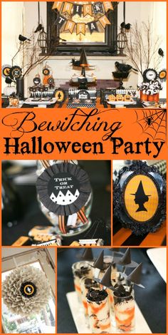 Bewitching Halloween Party! The most amazing decorations that make this the scariest party on the block!