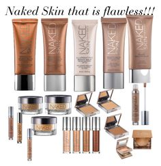"""""""Naked Urban Decay Foundations and Concealers!"""" by minadinamike on Polyvore featuring beauty and Urban Decay"""