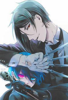 Sebastian x Ciel Phantomhive | black butler kuroshitsuji #anime