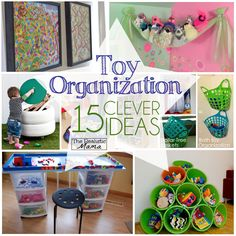 Toy Organization 15 More Clever Ideas