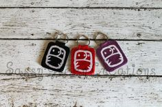 Cloth Diaper Key Fob. These are so cute!