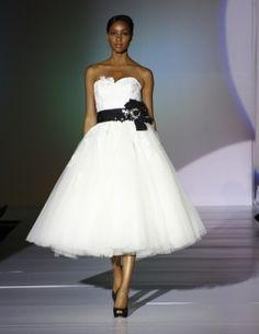 I could still try a short dress....