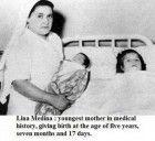 Lina Vanessa Medina Vásquez ebbe il suo primo figlio all'età di cinque anni. Ecco la sua storia.