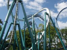 Scary Roller Coasters In The World Google Search Rollercoasters Pinterest The O 39 Jays