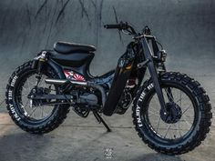 Honda Scrambler, Scrambler Motorcycle, Honda Motorcycles, Custom Motorcycles, Custom Bikes, Cafe Racer Moto, Cafe Racing, Cafe Racer Bikes, Honda Cub