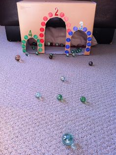 Rockabye Butterfly: Fun With Marbles!
