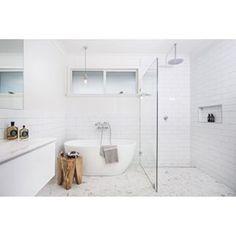 THREE BIRDS RENOVATIONS @threebirdsrenovations Instagram photos | Websta (Webstagram) Beach House Bathroom, Family Bathroom, Laundry In Bathroom, Small Bathroom, Master Bathroom, Bathroom Renos, Bathroom Layout, Bathroom Renovations, Bathroom Furniture