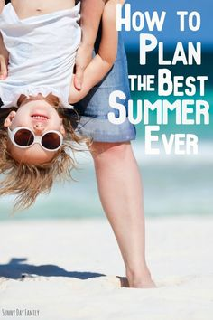 How are you spending your summer with kids? Get the right balance between laid back and activity packed with these easy summer planning tips - includes a printable summer activity planner too!