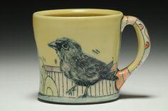 Yellow Bird Cup. Chandra DeBuse.