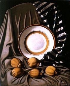Still Life, Lemons and Plate