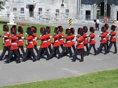 Changing of the Guard, Citadel (Quebec City, Canada)