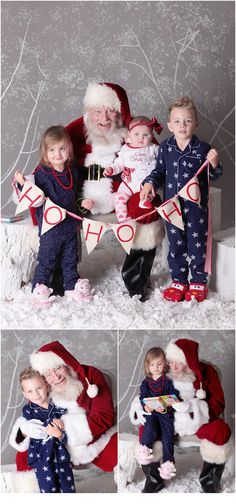What a fun time in the studio this season!  Loads and I do mean LOADS of cute kiddos that came to join us for Santa Pictures!  We will definitely be doing it again!  We already have a waiting list for people to want to make sure they are on it for next year!  AMAZING to us!