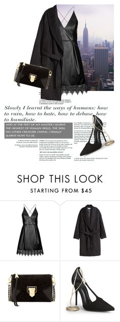 """""""Untitled #1403"""" by martso ❤ liked on Polyvore featuring moda, Topshop, H&M, Aimee Kestenberg y Schutz"""