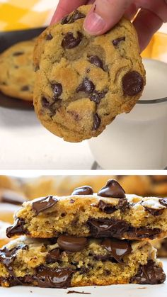 Cookie Recipes 452752568790362815 - A few simple tips and tricks will help you make this Chocolate Chip Cookies! This chocolate chip cookies recipe is a perfect way to impress everyone! Save this pin for later! Chocolate Cookie Recipes, Easy Cookie Recipes, Chocolate Cookies, Easy Desserts, Dessert Chocolate, How To Make Chocolate Chip Cookies Recipe, Recipe For Chocolate, Simple Cookie Recipe, Chocolate Videos