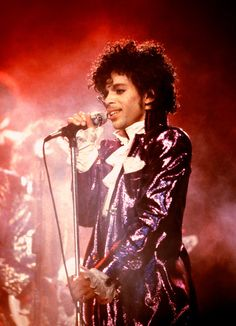 When he made purple lamé A Thing. | 23 Of Prince's Most Important Looks Ever