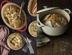 pan y pollo en cocotte