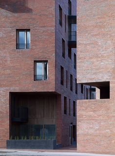 O'Donnell + Tuomey Architects, Timberyard Social Housing, Dublin, Ireland, 2009