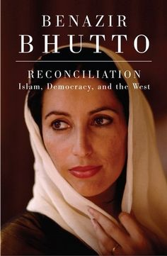"""Benazir Bhutto. """"Democracy is necessary to peace and to undermining the forces of terrorism."""""""