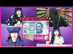 UNA SEMANA COMIENDO POR 20 PESOS 1€   AKARI BEAUTY - YouTube