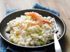 Découvrez la recette Risotto aux crevettes sur cuisineactuelle.fr.