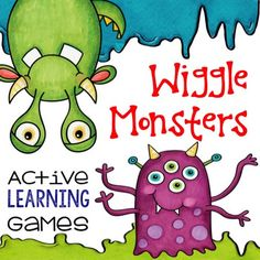 Work their wiggles out with these fun monster moves.  There are ten ways to play! Skills covered in these action games include vocabulary review (insert your weekly words) spelling, homophones, synonyms, antonyms, homophones, and more.Game Instructions included for:CharadesSpelling BeeRole CallMatchingVocab ReviewTrue/FalseWord ScrambleRoot WordsHomophonesAntonyms/SynonymsGreater Than / Less Than  Includes:26 black and white decoder signs with body movement instructions for each letter of…