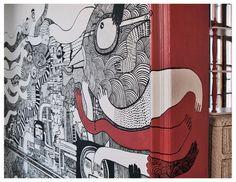 interior mural by Gosia Herba