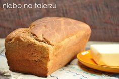 Najłatwiejszy chleb - niebo na talerzu Graham, Breakfast, Food, Breads, Morning Coffee, Bread Rolls, Meals, Bread, Braid Out